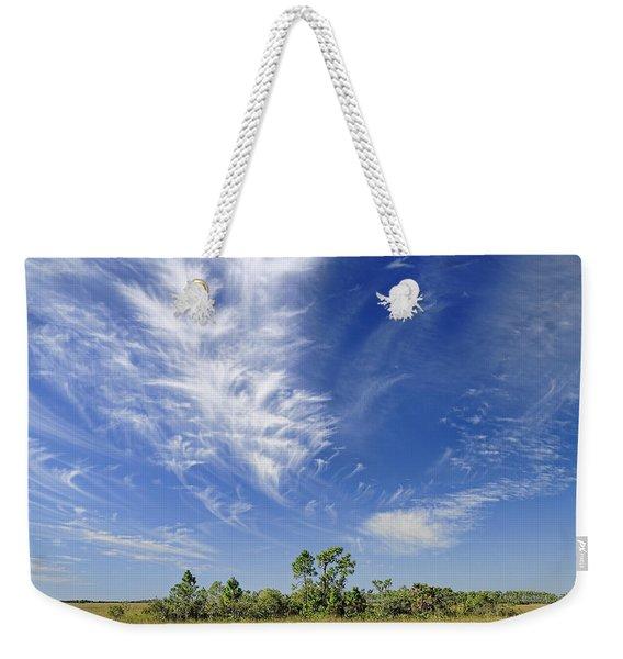 Cirrus Clouds  Weekender Tote Bag
