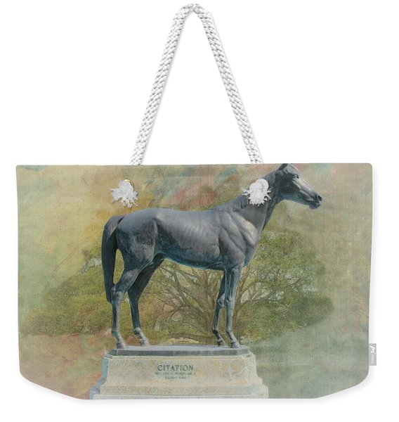 Citation Thoroughbred Weekender Tote Bag