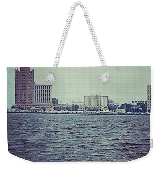 City Across The Sea Weekender Tote Bag