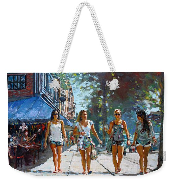 City Girls Weekender Tote Bag
