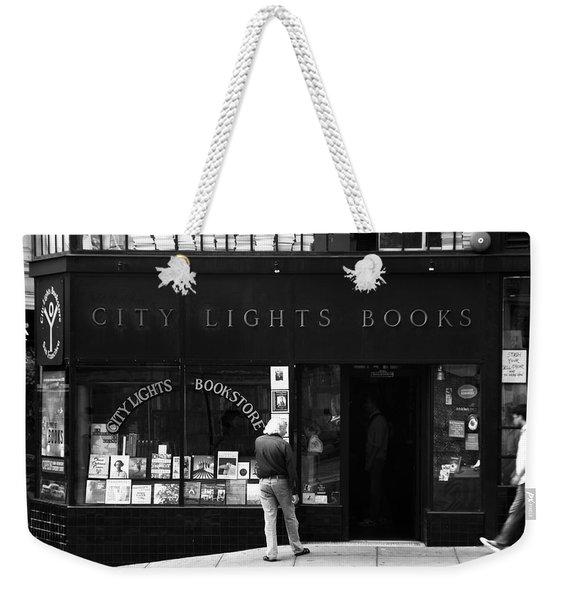 City Lights Bookstore - San Francisco Weekender Tote Bag
