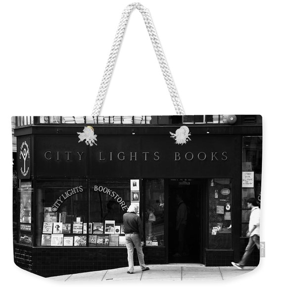 City Lights Bookstore - San Francisco Weekender Tote Bag