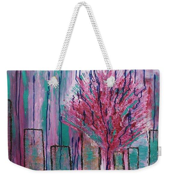 City Pear Tree Weekender Tote Bag