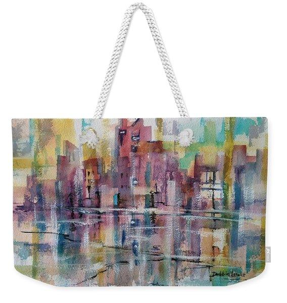 City Reflections Weekender Tote Bag