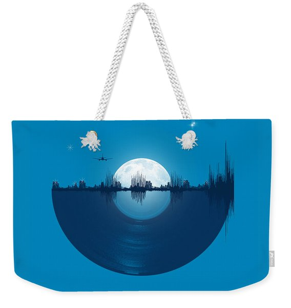 City Tunes Weekender Tote Bag