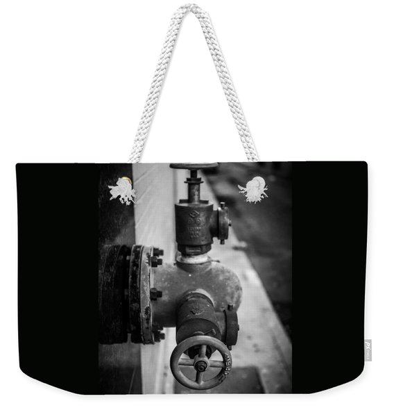 City Valves Weekender Tote Bag