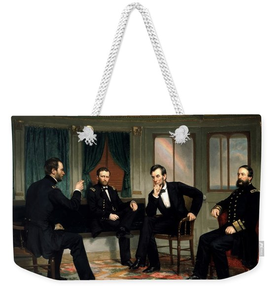 Civil War Union Leaders -- The Peacemakers Weekender Tote Bag