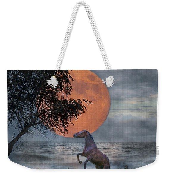 Claiming The Moon Weekender Tote Bag