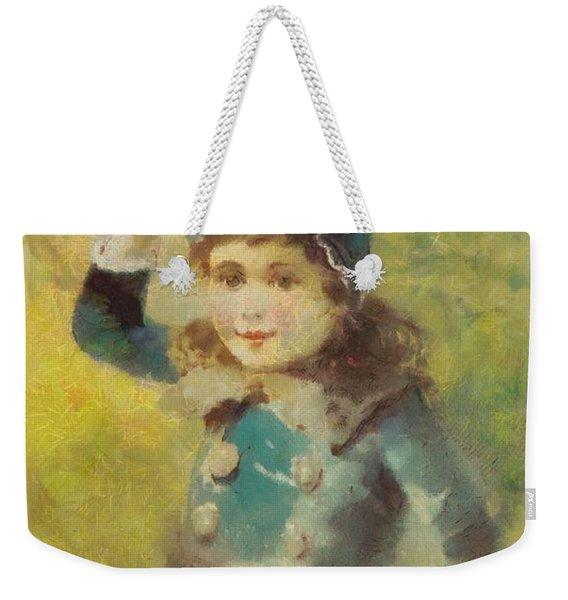 Clark's Spool Cotton Weekender Tote Bag