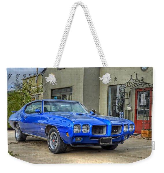 Classic 70 Gto Weekender Tote Bag