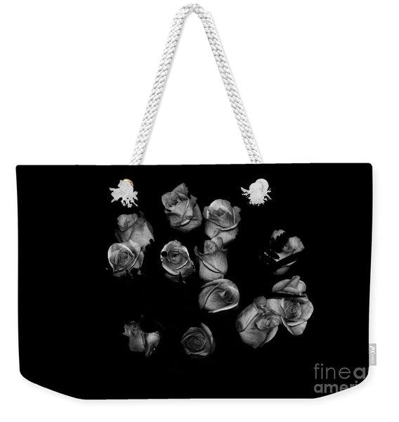 Classic Black Roses Weekender Tote Bag