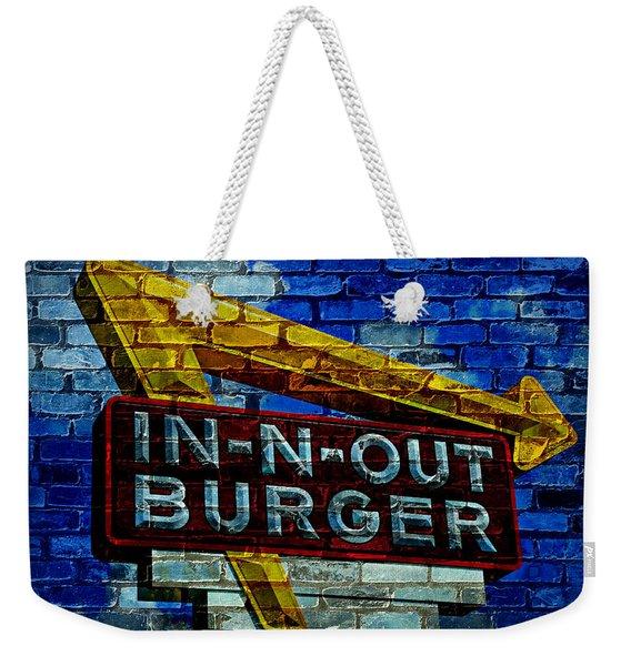 Classic Cali Burger 2.4 Weekender Tote Bag