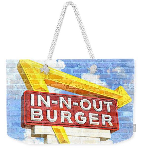 Classic Cali Burger 2.5 Weekender Tote Bag