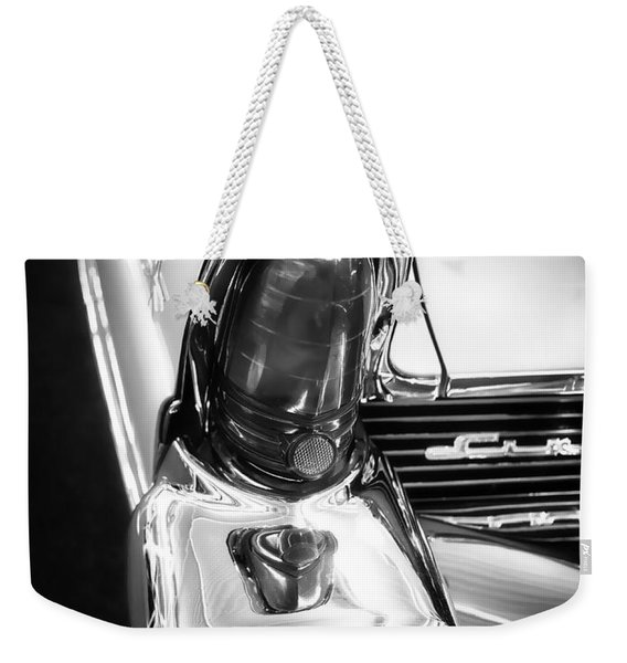 Classic Car Tail Fin Weekender Tote Bag