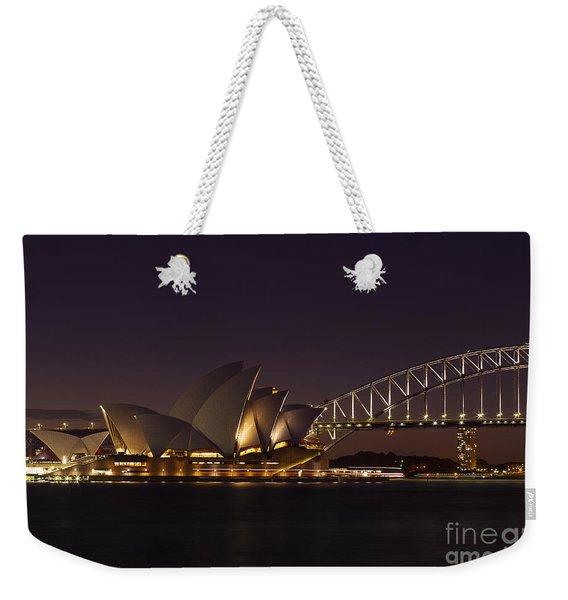 Classic Elegance Weekender Tote Bag