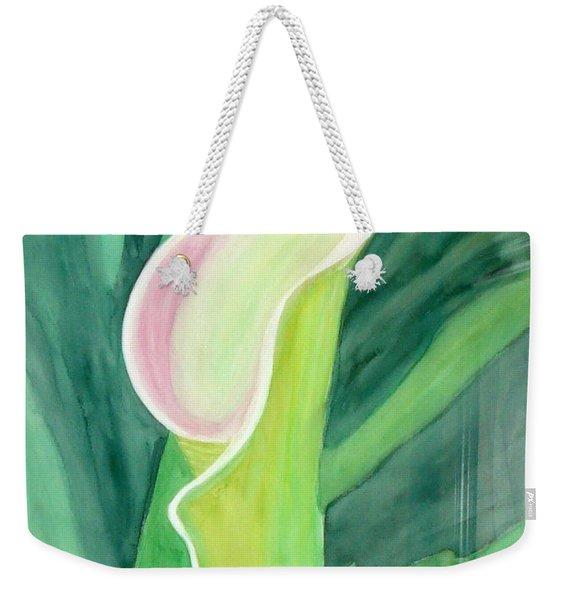 Classic Flower Weekender Tote Bag