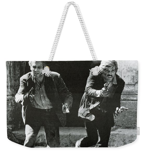 Classic Photo Of Butch Cassidy And The Sundance Kid Weekender Tote Bag