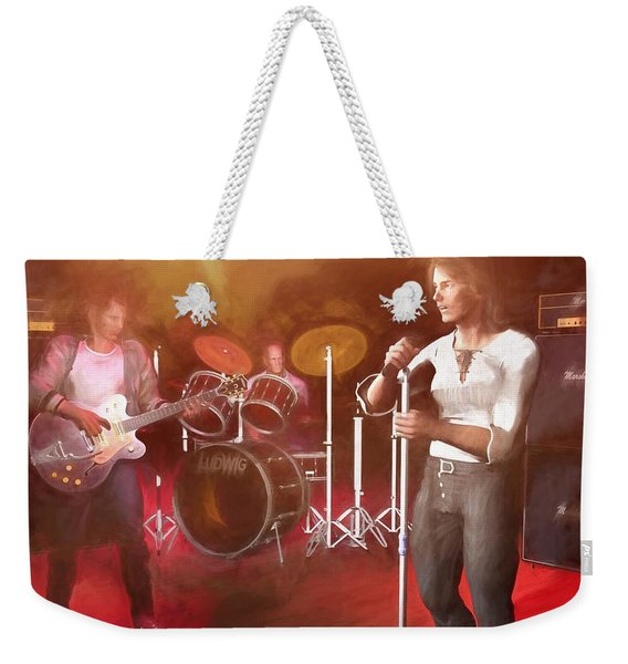 Classic Rock Revisited Weekender Tote Bag