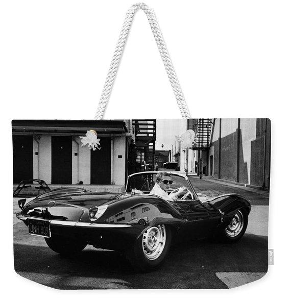 Classic Steve Mcqueen Photo Weekender Tote Bag