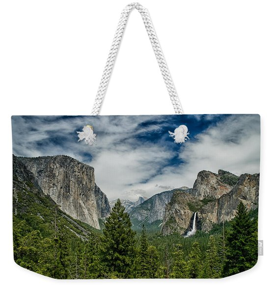 Classic Tunnel View Weekender Tote Bag