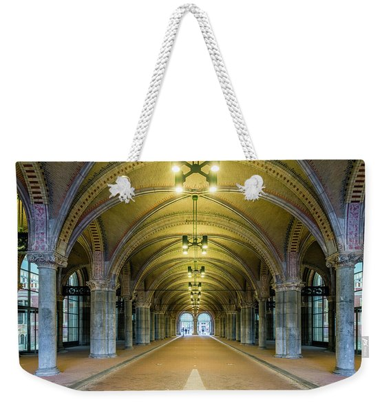 Classical Arches And Columns Weekender Tote Bag