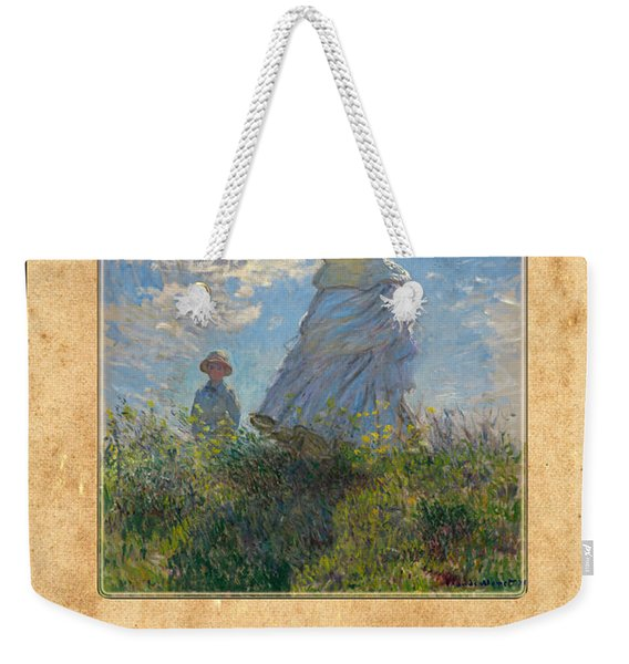 Claude Monet 1 Weekender Tote Bag