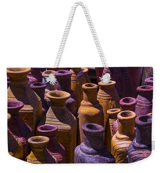 Clay Vases Weekender Tote Bag