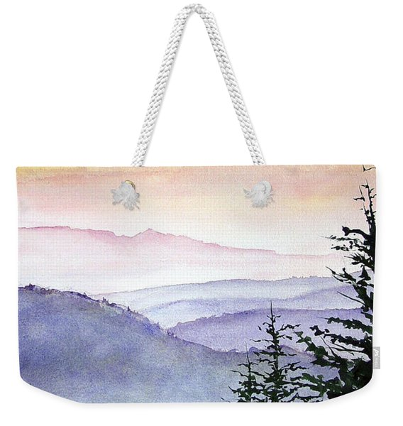 Clear Mountain Morning II Weekender Tote Bag
