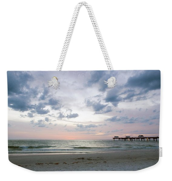 Clearwater Fishing Pier Weekender Tote Bag