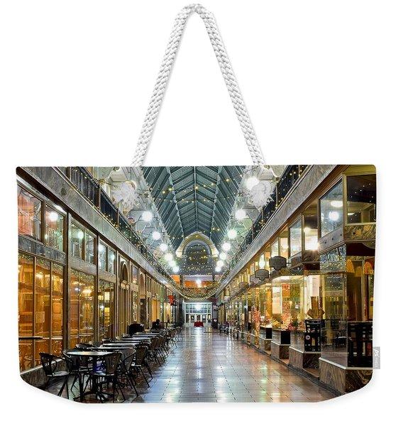 Cleveland Arcade Weekender Tote Bag