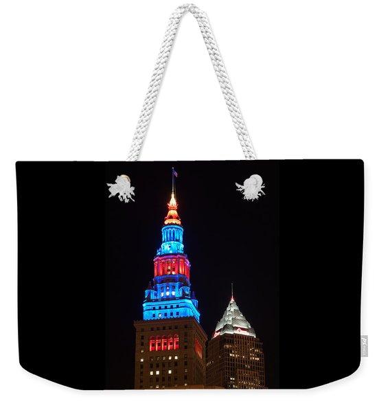 Cleveland Towers Weekender Tote Bag