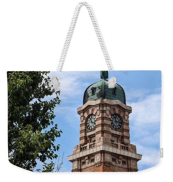 Cleveland West Side Market Tower Weekender Tote Bag