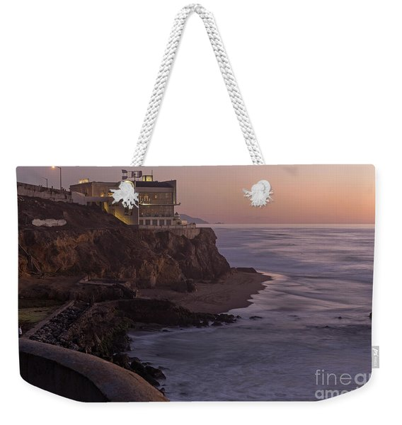 Cliff House Sunset Weekender Tote Bag