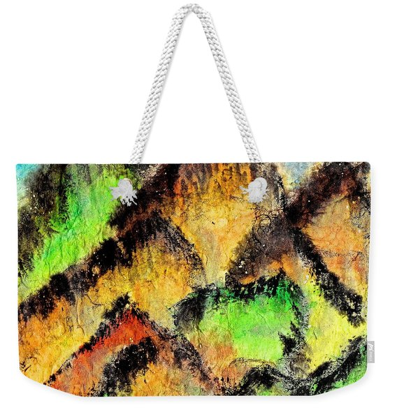 Climb Every Mountain Weekender Tote Bag