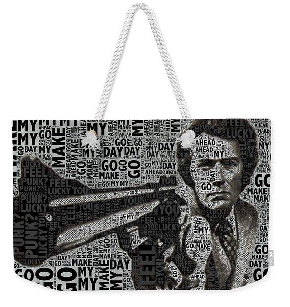 Clint Eastwood Dirty Harry Weekender Tote Bag