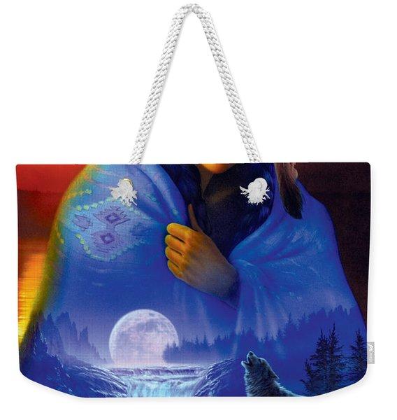 Cloak Of Visions Portrait Weekender Tote Bag