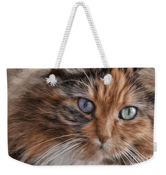 Cloe Kitty Weekender Tote Bag