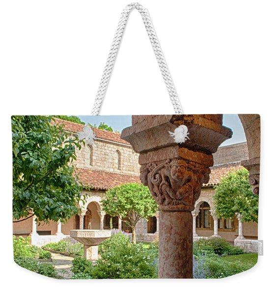 Cloisters Courtyard Weekender Tote Bag