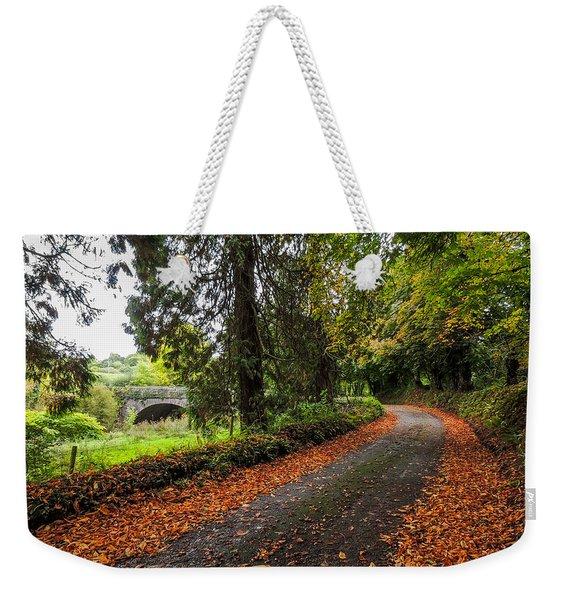 Clondegad Country Road Weekender Tote Bag