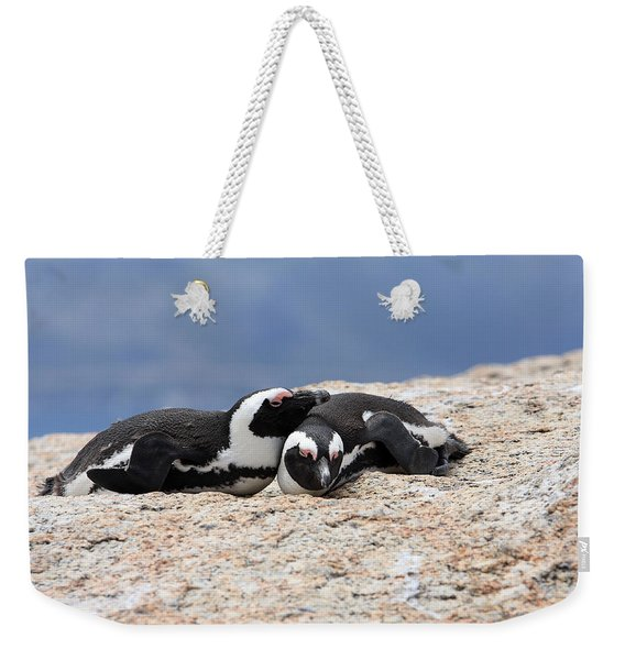 Close Bonds Weekender Tote Bag