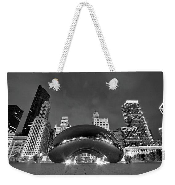 Cloud Gate And Skyline Weekender Tote Bag