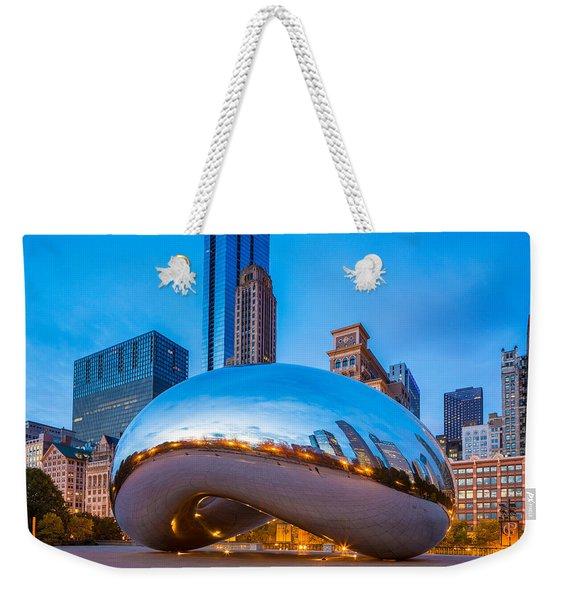 Cloud Gate Number 3 Weekender Tote Bag