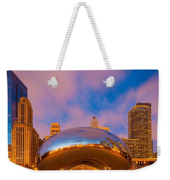 Cloud Gate Number 4 Weekender Tote Bag