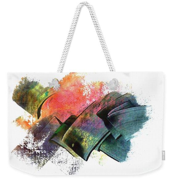 Clouded Judgement Weekender Tote Bag