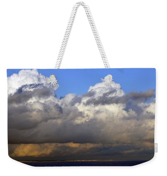 Clouds Over Portsmouth Weekender Tote Bag