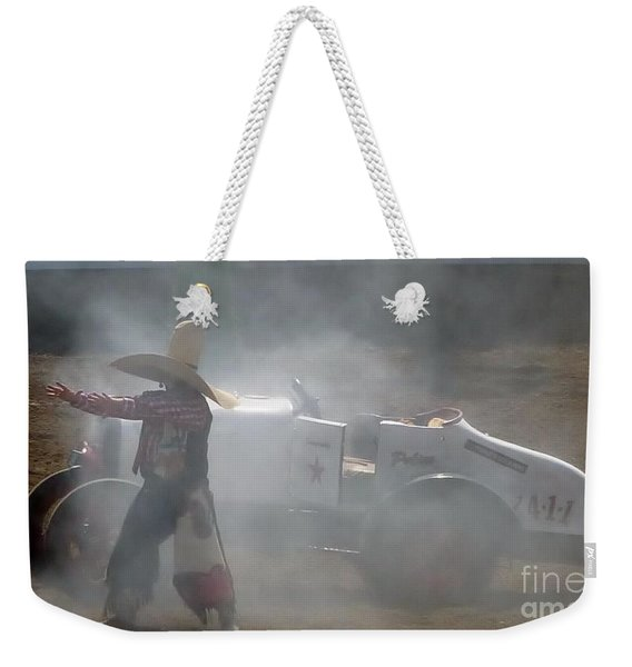 Clown Car Weekender Tote Bag