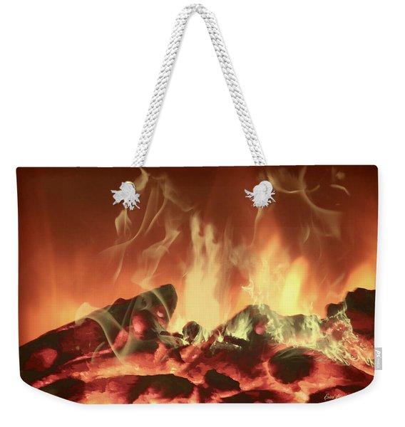 C'mon Baby Light My Fire Weekender Tote Bag
