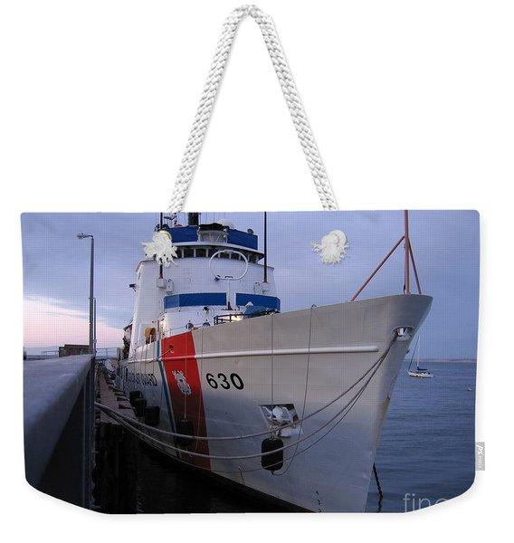 Coast Guard Cutter Alert Weekender Tote Bag