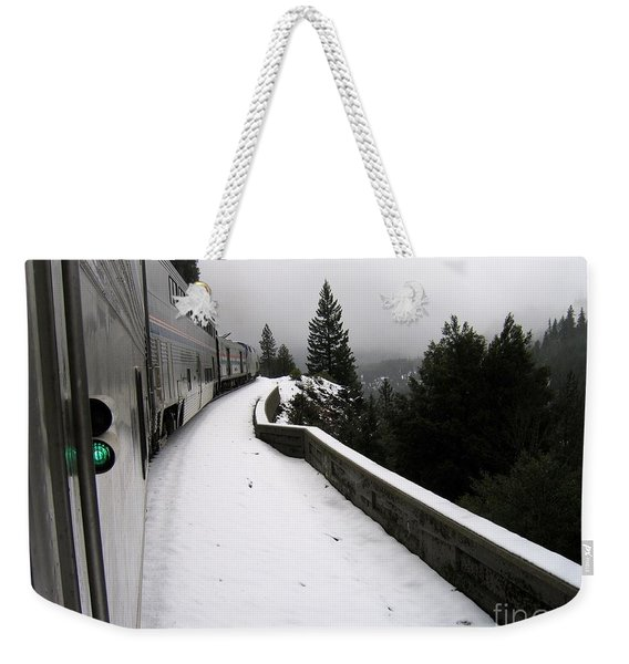 Coast Starlight In The Mountains Weekender Tote Bag