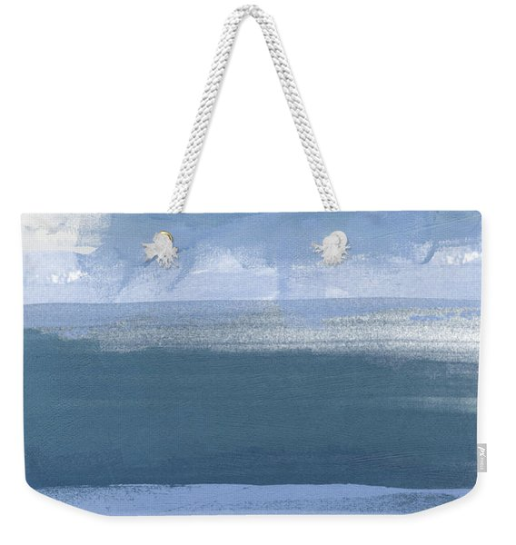 Coastal- Abstract Landscape Painting Weekender Tote Bag
